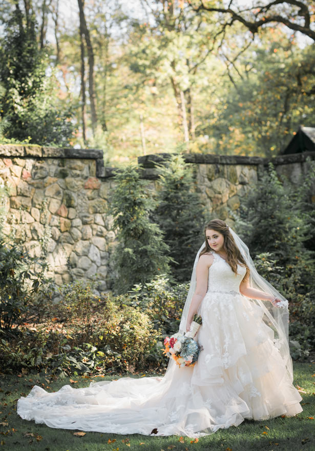Fall Wedding Bride - Imagine It Photography