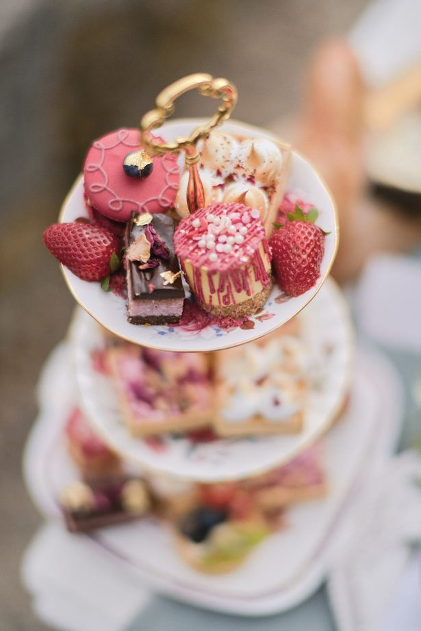 French Wedding Desert Pastries - Sephory Photography