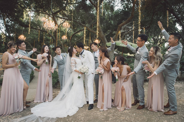 Fun wedding party picture - Yunis Chen Photography