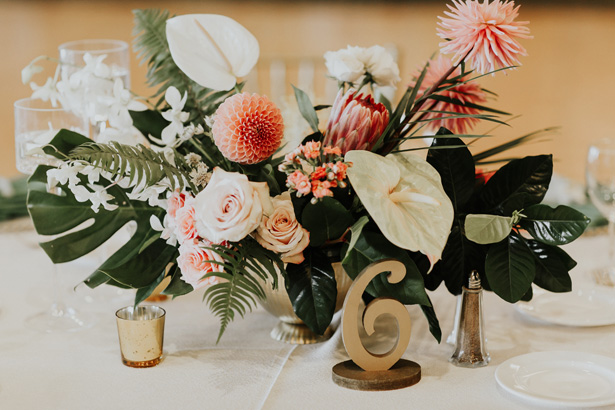 Glam Wedding Table Centerpiece - Amy Lynn Photography