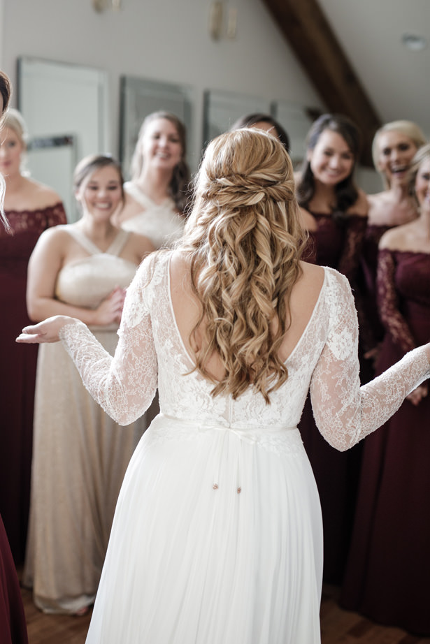 Gorgeous Bridal Party - Kathy Beaver Photography