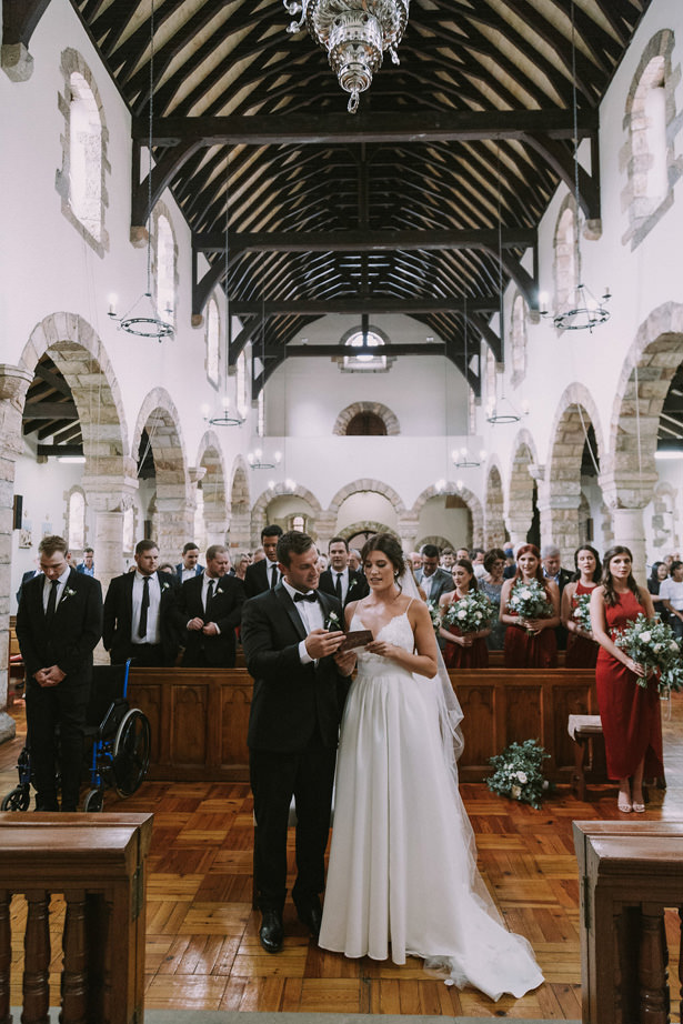 Gorgeous Church Wedding Ceremony - Bianca Asher Photography