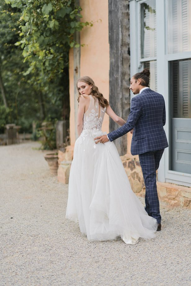 Grooms Suit and Bowtie - Sephory Photography