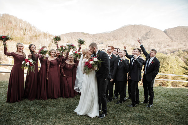 Gorgeous Winter Wedding Photo - Kathy Beaver Photography