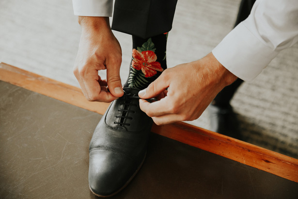 Grooms Wedding Socks - Amy Lynn Photography