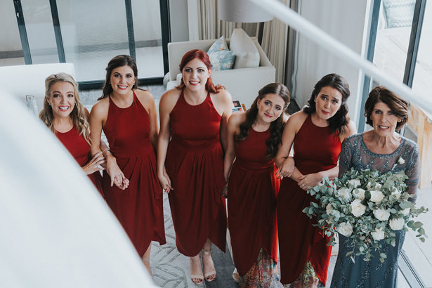 Halter Bridesmaid Dresses - Bianca Asher Photography