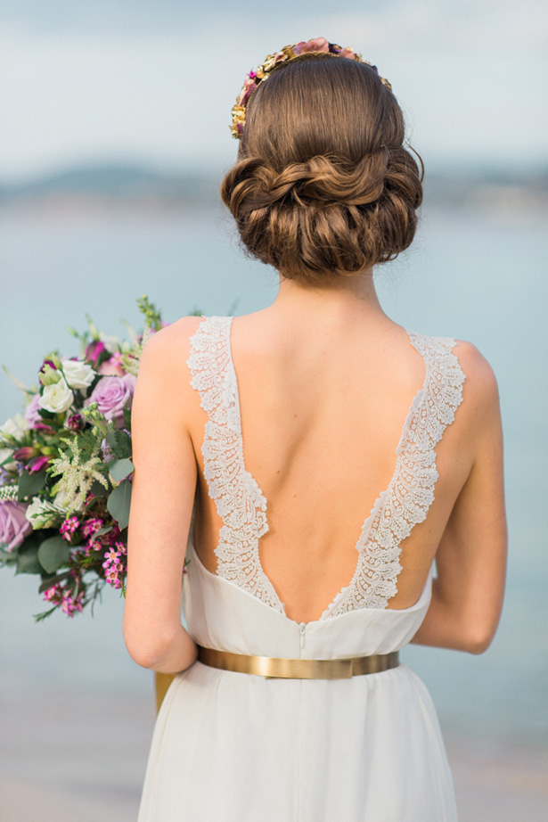 Halter boho Wedding Dress - Heike Moellers Photography