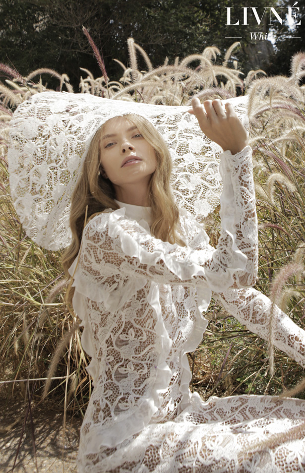 "Livné White Wedding DressesSpring 2019 ""Arcadia"" Bridal Collection - Belle The Magazine"