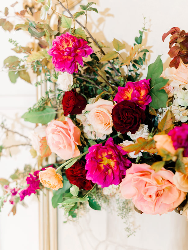 Luxe Wedding Flowers - Rachel Elaine Photo