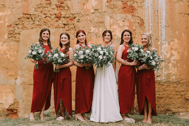 ching Bridal Party Bouquets - Bianca Asher Photography