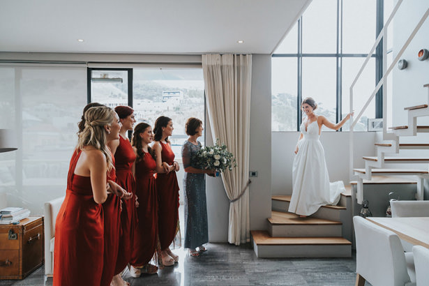 Modern Bridal party - Bianca Asher Photography