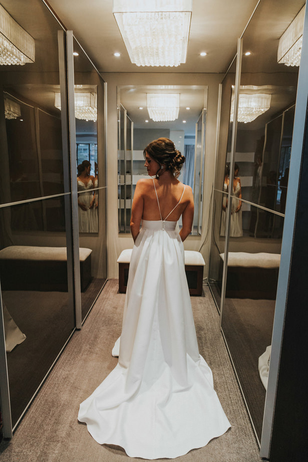 Open Back Wedding Dress - Bianca Asher Photography