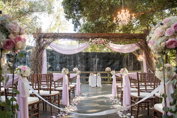 Outdoor Wedding Ceremony - Yunis Chen Photography