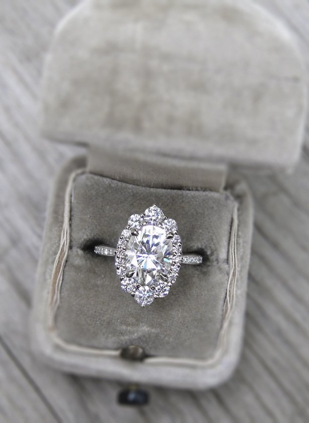 Platinum Engagement Ring - Kristin Coffin