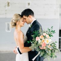 Romantic wedding photo - Justina Louise Photography