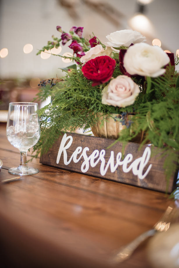 Rustic Wedding Sign - Kathy Beaver Photography