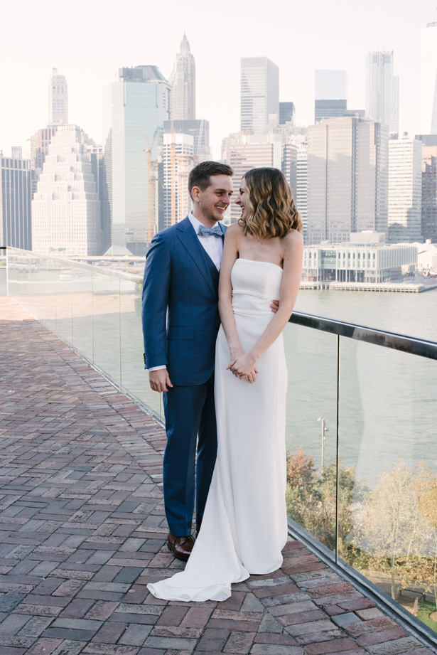Simple Brooklyn Wedding Photo - Williamsburg Photo Studios