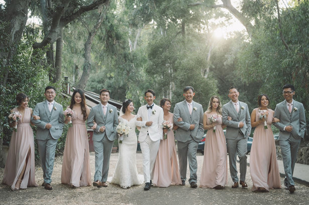 Sophisticated Wedding Party - Yunis Chen Photography