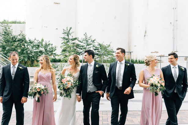 Stylish wedding party - Justina Louise Photography