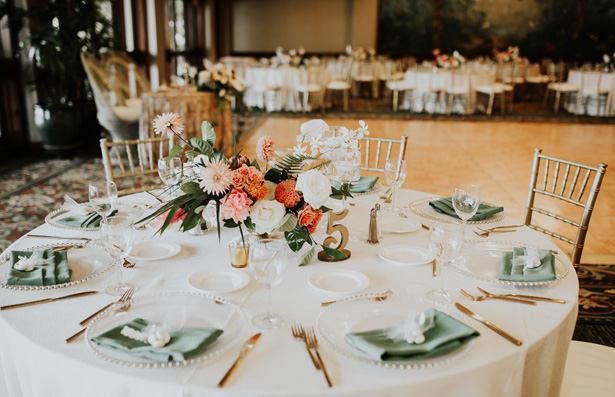 Tropical Wedding Tablescape - Amy Lynn Photography