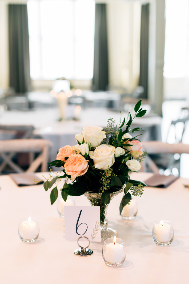 Wedding Centerpiece - Justina Louise Photography