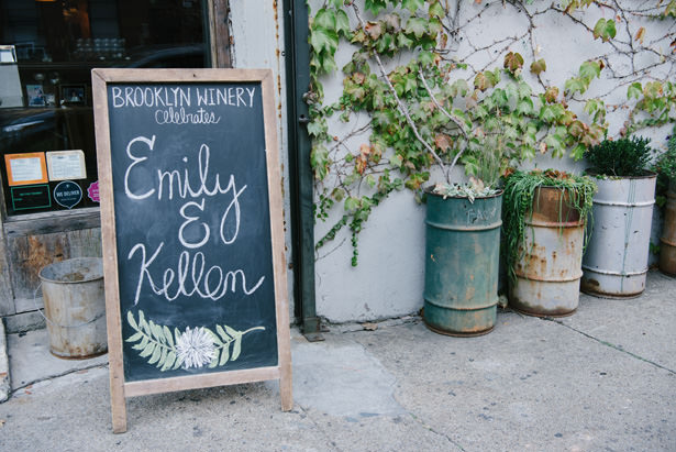 Wedding Chalk Sign - Williamsburg Photo Studios