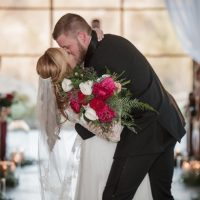 Wedding Kiss - Kathy Beaver Photography
