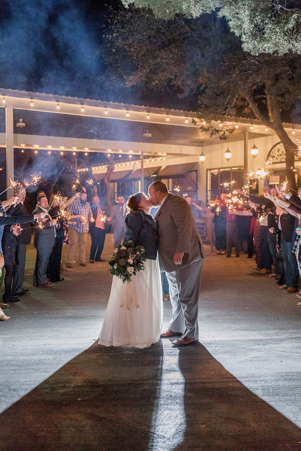 Wedding sparklers - Holly Marie Pho