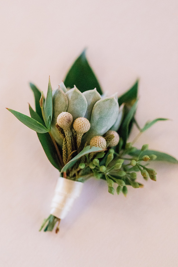 Wedding succulent - Holly Marie Photography