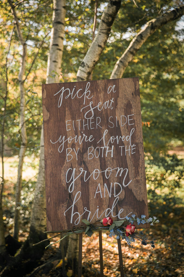 Wood Wedding Sign - Imagine It Photography