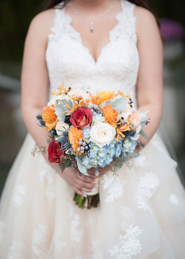 fall wedding bouquet - Imagine It Photography