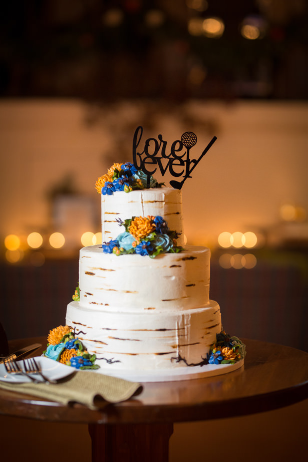 fall wedding cake - Imagine It Photography