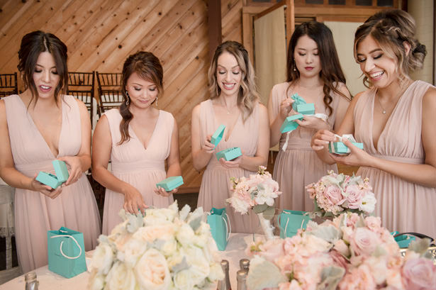 Bridesmaids Gifts - Yunis Chen Photography