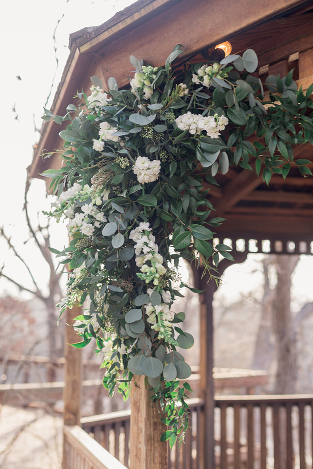 organic wedding greenery - Holly Marie Photography