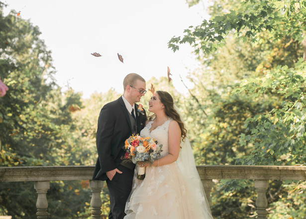 outdoor Fall wedding - Imagine It Photography