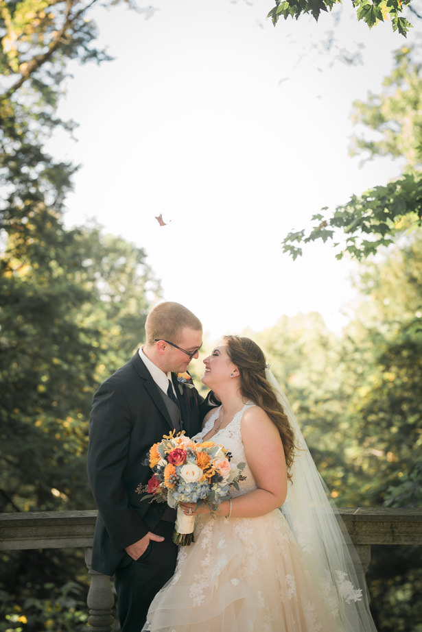 romantic Fall wedding - Imagine It Photography