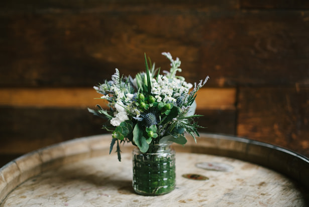 succulent wedding centerpiece - Williamsburg Photo Studios