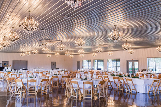winter wedding reception - Holly Marie Photography