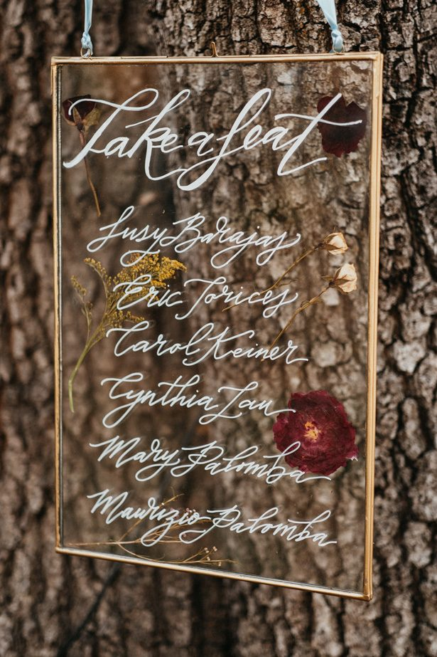 Acrylic Wedding Sign - The Blushing Details / Quattro Studios