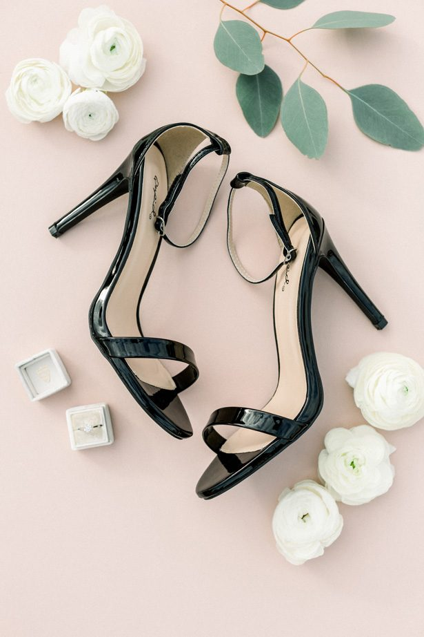Black Wedding Shoes - Photography by Lauryn