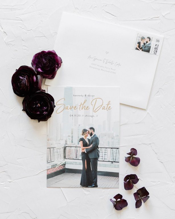 Wedding save the dates by Minted- Photography by Lauryn
