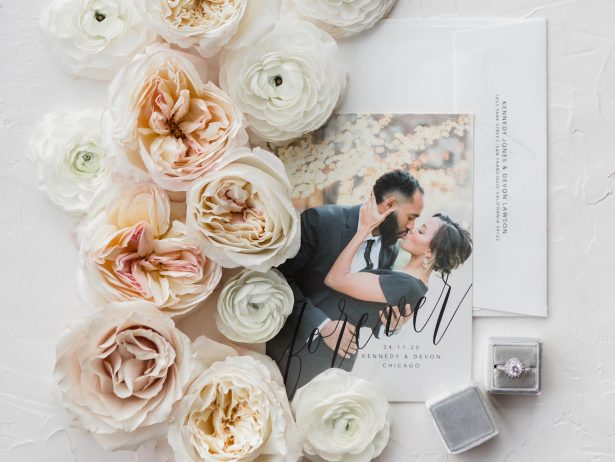 Aisle Society for Minted Save the Dates Photography by Lauryn - cover