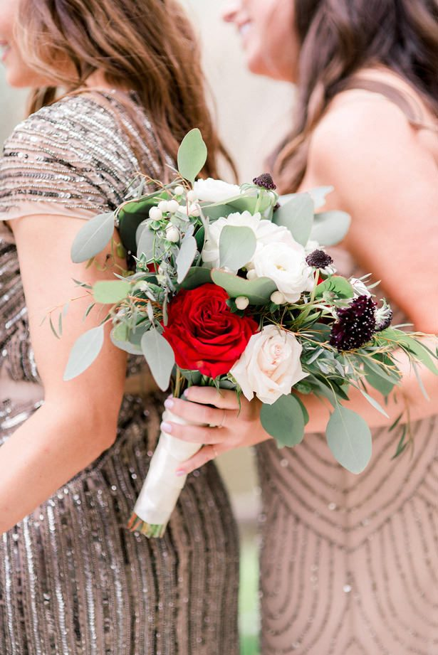Bridesmaid bouquet - XO