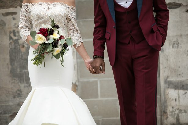 Burgundy wedding - Alice Hq Photography