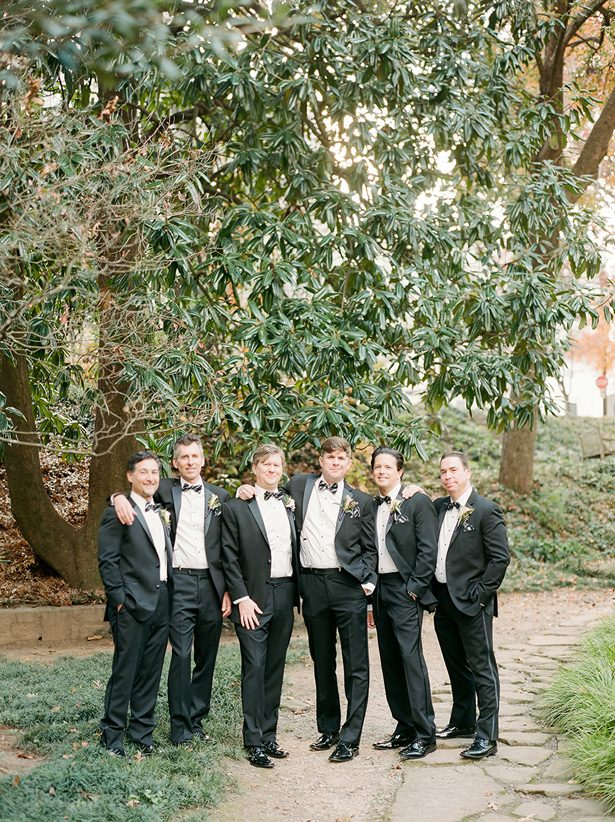 Calssic black wedding suits for groomsmen - Melissa Schollaert Photography