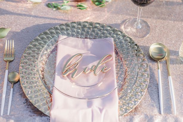 Wedding place setting - Emily Richardson Photography