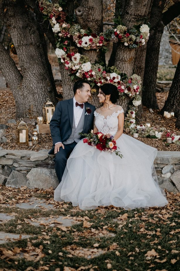 Modern Romance Meets Rustic Fall Vibes in this Fairytale Wedding Inspiration - Quattro Studios