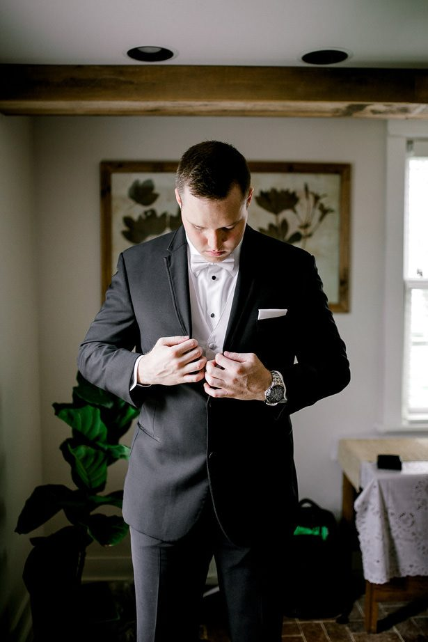 Groom tuxedo with vest - Honey + Bee Photography