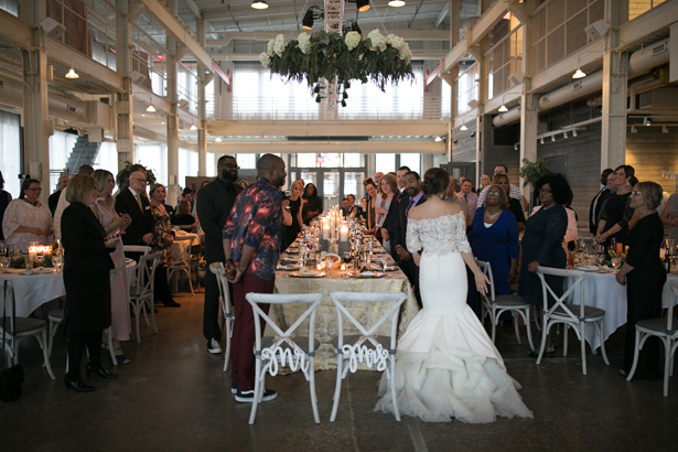 Industrial Glam Wedding Reception - Alice Hq Photography