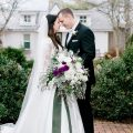 gorgeous winter wedding photo - Honey + Bee Photography